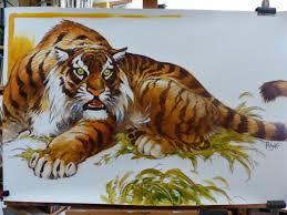 2016 08 27 Dessin D Un Tigre In Dit Site Officiel De Frank P