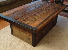Furniture: Storage Trunk Coffee Table New Industrial Coffee Table With  Usable Trunk By Mthoodwoodworks -