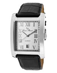 lucien piccard classico men s watches 54 99 for lucien piccard men s classico black band silver dial silver tone hands lp 98042 02s 595 list price