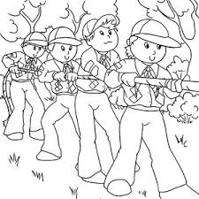 Small Picture Boy Scouts Adevnture Coloring Pages Best Place to Color