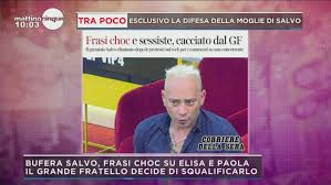 Mattino Cinque: GFVIP: Salvo Veneziano eliminato Video