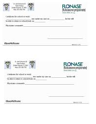 Forge Doctors Note Free Printable Doctors Excuse For Work Template Business