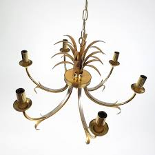 brass u chrome pineapple chandelier from boulanger s with pineapple crystal chandelier