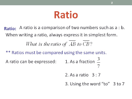 ratios in fraction form ratios and proportions ppt download