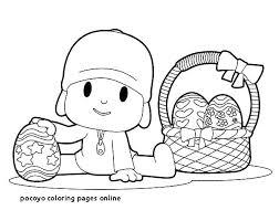 Pocoyo Coloring Pages Koshigayainfo