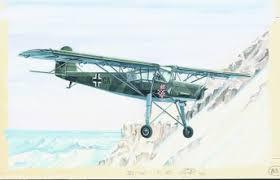Letadlo Fieseler Fi 156 Storch Estavebnice