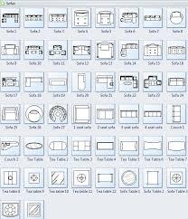 floor plan furniture symbols. Sofa Symbols For Floor Plan Furniture