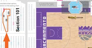 Seating Chart Golden One Sacramento Sold Out Our Sacramento Kings Vs San Antonio Spurs Holiday