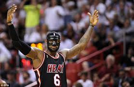 lebron mask. man in the mask: james his black mask during miami\u0027s win against new lebron