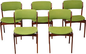 4 5 set of 5 model 49 dining chairs erik buch 1960s previous next