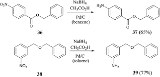 ch3co2h hydrogenation of alkenes with nabh4 ch3co2h pd c in the