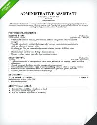 Entry Level Administrative Assistant Resume Samples Entry Level Administrative Assistant Resume Blogue Me