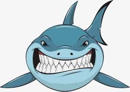 shark clipart. Perfect Clipart Cartoon Shark Cartoon Clipart Shark Ferocious PNG Image And  Clipart Throughout H