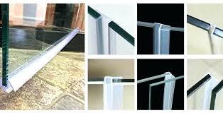 shower door sweep seal glass shower door sweep shower door sweep replacement glass shower door sweeps
