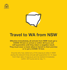 If you have been to any of the locations below during the. Mark Mcgowan On Twitter The Situation In Nsw Is Fast Evolving And Concerning Given The Outbreak Involves The Delta Strain Of The Covid 19 Virus Based On The Latest Health Advice We Re Introducing