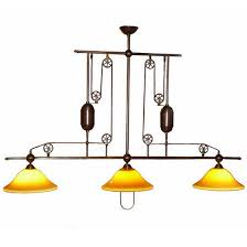 pulley lighting. Bilardo Inline Three-Light In Aged Brass Pulley Lighting