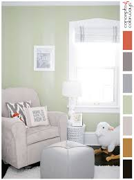 a sage green and white color palette