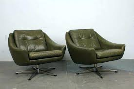 modern lounge chair and ottoman leather chair lounge lovely mid century modern leather chair dark olive