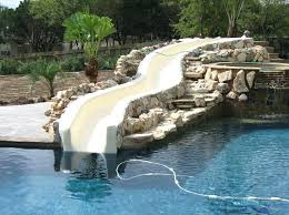 pool designs with slides azikme