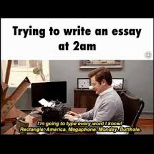 Jokes  Funny Pictures   The result of   hours of writing my essay  probationofficerjobs us