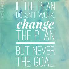 Planning Quotes Simple Motivation Quote If The Plan Doesn't Work Change The Plan But