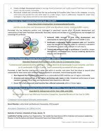Awards Resume Executive Resume Sample Executive Vice President Executive