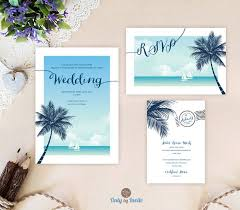 best 25 tree wedding invitations ideas on pinterest casual When To Mail Destination Wedding Invitations beach wedding invitations printed on white shimmer paper cruise ship wedding invitation, rsvp, enclosure card when to mail out destination wedding invitations