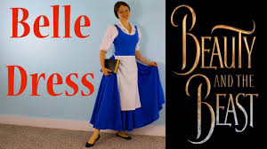 Belle Blue Dress Pattern Beauteous How To Make A Peasant Belle Blue Dress Beauty And The Beast Costume