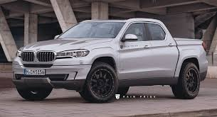 This BMW Pickup Truck Rival To The Mercedes-Benz X-Class Could Be A ...