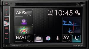 avic f970bt double din av navigation system, carplay, bluetooth pioneer radio navigation ready at Pioneer Radio With Navigation