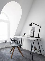 home office simple. Simple Scandinavian Home Office. Styling By Pela Hedeby, Photographer Sara Medina Lind For Lenca Office