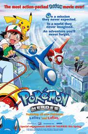 pokemon heroes poster - Google Search | Pokémon heroes, Pokemon movies,  Pokemon
