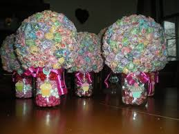 Decorated Candy Jars Divas For a Healthy Life Adorable Candy Centerpieces 44