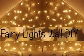 Chic Wall Of Fairy Lights As Well As Fairy Lights Wall/headboard Diy Youtube