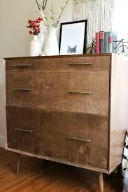 Midcentury modern dressers Target How To Build Mid Century Modern Dresser With Rounded Leg Base Woodshop Diaries How To Make Diy Mid Century Dresser Base with Round Legs