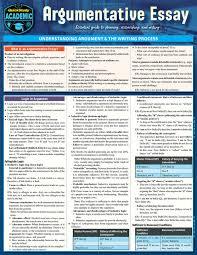 Persuasive Argumentative Essays Laminated Study Guide 9781423238591