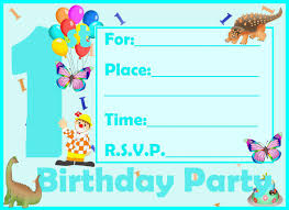 printable invitations for kids 16 best first birthday invites printable sample templates