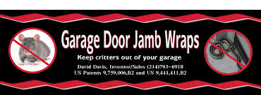 a single economical new garage door jamb wraps