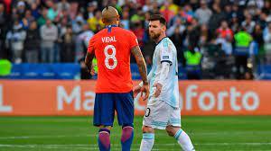 خيبات منتخب الأرجنتين لا تتوقف أمام تشيلي، الأرجنتين تسقط في فخ التعادل  أمام تشيلي بأولى مبارياتها في كوبا أمريكا