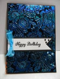 elizabeth craft shimmer sheetz anna griffin embossing folder poppy and birthday cardshappy birthday