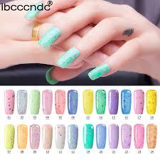 ibcccndc 7ml cheese nail gel 24 colors gel polish long lasting soak off led uv gel varnish nail polish gelpolish for nail art in nail gel from beauty