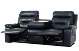 jackson black 3 seater recliner