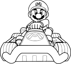 Coloriages Mario Avtomobil D704119f0d30