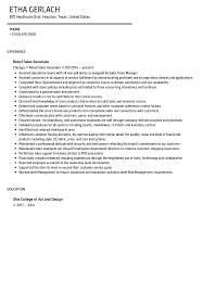 Sales Associate Resume Sample Velvet Jobs