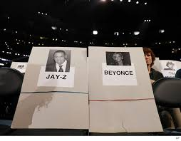 Grammy Seating Chart Beyonce In Front Bieber And Kanye No