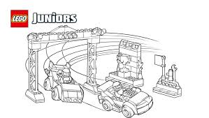 Small Picture LEGO Juniors Race Car Competition Coloring Page Coloring pages