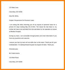 Sample Annual Leave Request Letter Refrence Leave Letter Format For ...