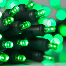 battery operated lights 20 green battery operated 5mm led lights green wire