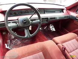 Red Interior 1993 Chevrolet Lumina Euro Coupe Photo #46502024 ...