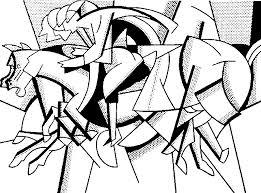 Anti Stress Kleurplaten Roy Lichtenstein De Rode Trui 4